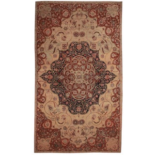 RugsinDallas Persian Hand Knotted Wool Kerman Rug- 10′8″ × 18′5″