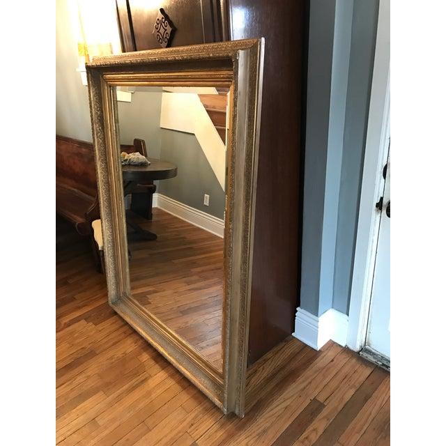 Oversized Beveled Mirror in Custom Gilt Frame - Image 5 of 9