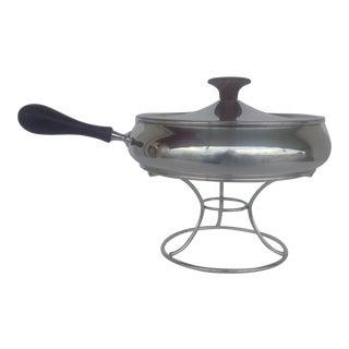 Italian Silver Plate Platform Chapin Dish Server