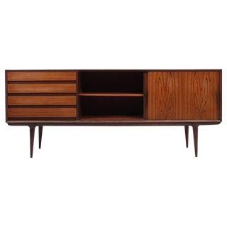 Rosewood Credenza Designed by Gunni Omann for Omann Jun, Scandinavian Modern