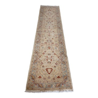 Traditional Woven Wool Runner - 2′6″ × 9′10″