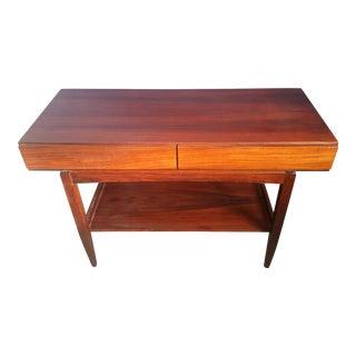 Danish Mid Century Modern Rosewood Desk