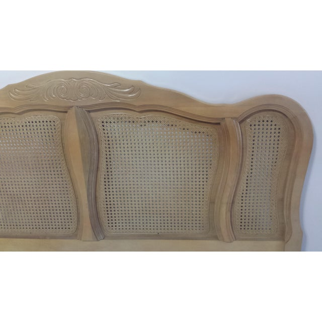 French Provincial Queen Size Headboard - Image 9 of 10