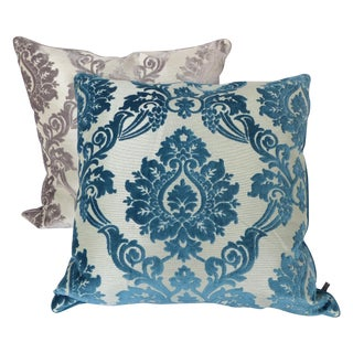 Velvet Square Pillows- A Pair