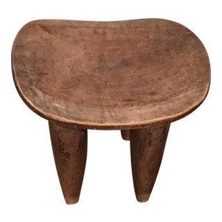 African Senufo Wooden Stool