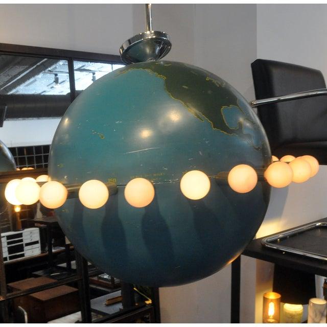 Ted Harris Vintage Globe Chandelier - Image 4 of 5