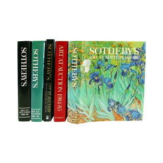 Sotheby's Art at Auction Books - Set of 5