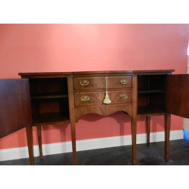 Image of Ethan Allen Duncan Phyfe-Style Sideboard