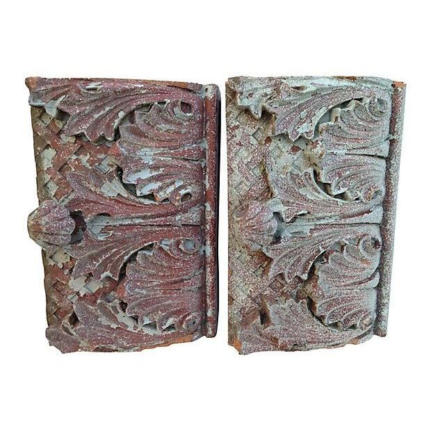 Antique Terra Cotta Corbels - A Pair - Image 3 of 7