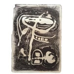 Circa 1940-50s Jerry Opper Abstract Lithograph