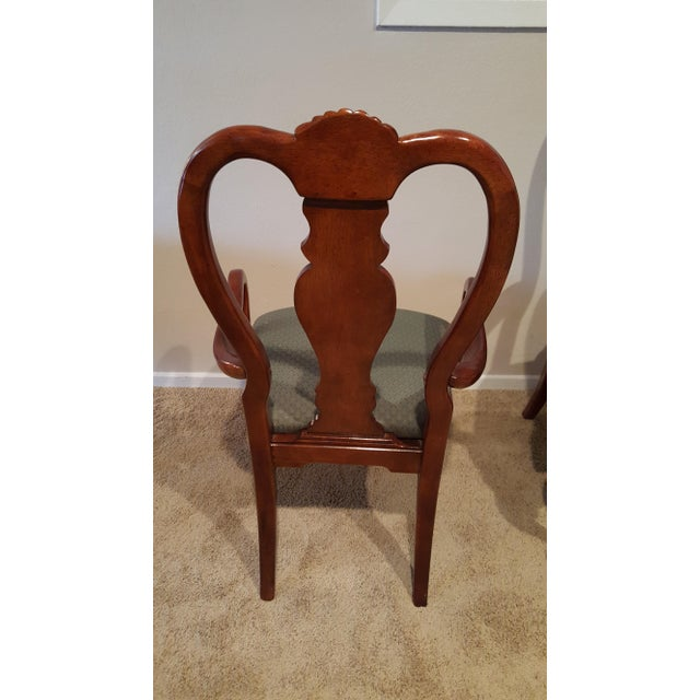 Queen Anne Dining Chairs - Set of 6 - Image 5 of 5