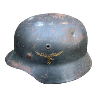 Authentic WWII German Luftwaffe M1940 Helmet
