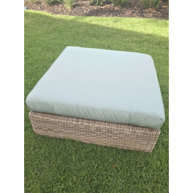 Kingsley Bate Outdoor Ottoman - Image 4 of 8