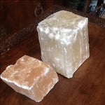 Image of Pink Selenite Blocks - Pair