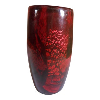 Daum Nancy Art Glass Tumbler