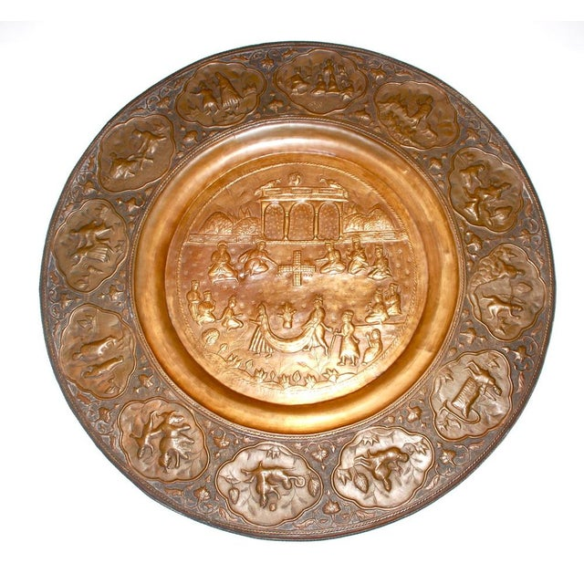 Anglo-Indian Copper Tray Table With Folding Wooden - Image 4 of 6