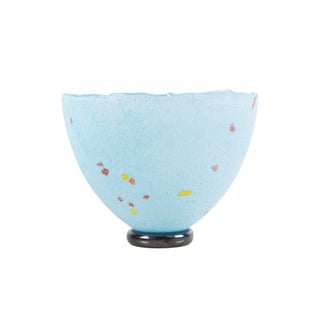 Bertil Vallien Kosta Boda Scandinavian Studio Glass Bowl