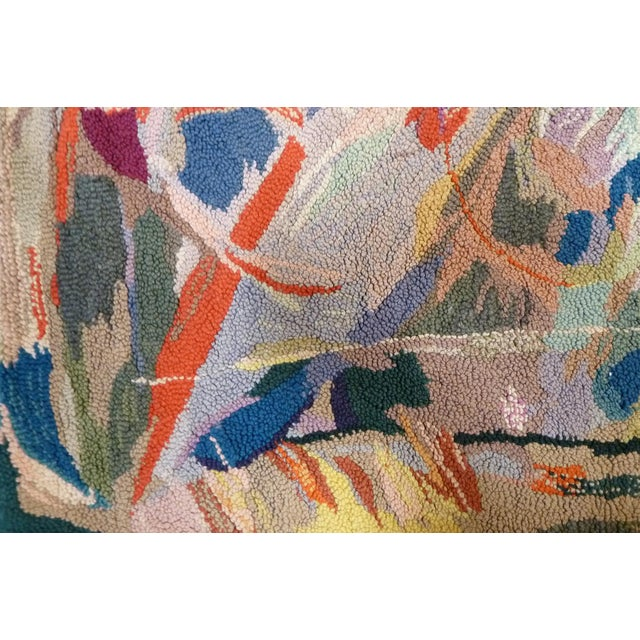 Miripolsky Abstract Expressionist Tapestry - Image 2 of 4