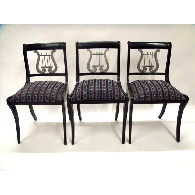 Mid-Century Harp Back Dining Chairs - Set of 3 - Image 2 of 8