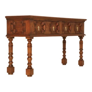 English Traditional Style Console Table