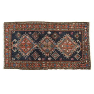"Vintage Lanbaran Heriz Rug - 2'6"" X 4'6"""