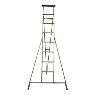 Painted Splattered Apple Ladder