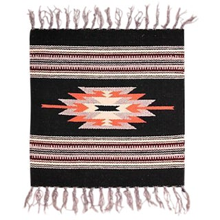 Chimayo Weaving - 1′3″ × 1′8″