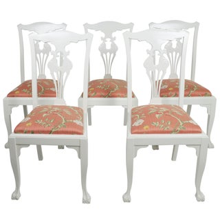 Chippendale Side Chairs - Set of 5