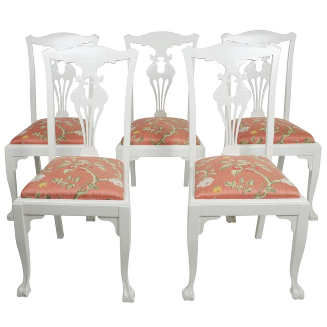Image of Chippendale Side Chairs - Set of 5