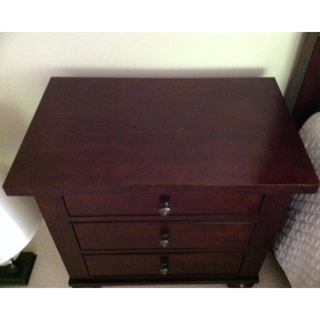 Restoration Hardware Camden Style Nightstands - A Pair - Image 3 of 6
