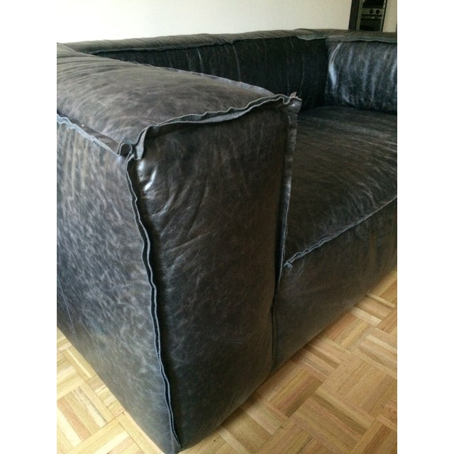 Image of Comfortable Couch Company Mondo Leather Love Seat