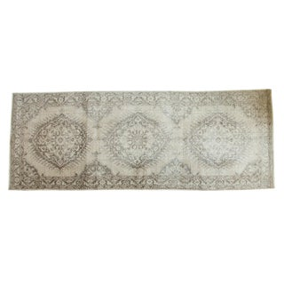 Vintage Distressed Sparta Rug Runner - 5' x 13'2""