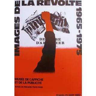 'Images de la Revolte 1965-1975' Poster