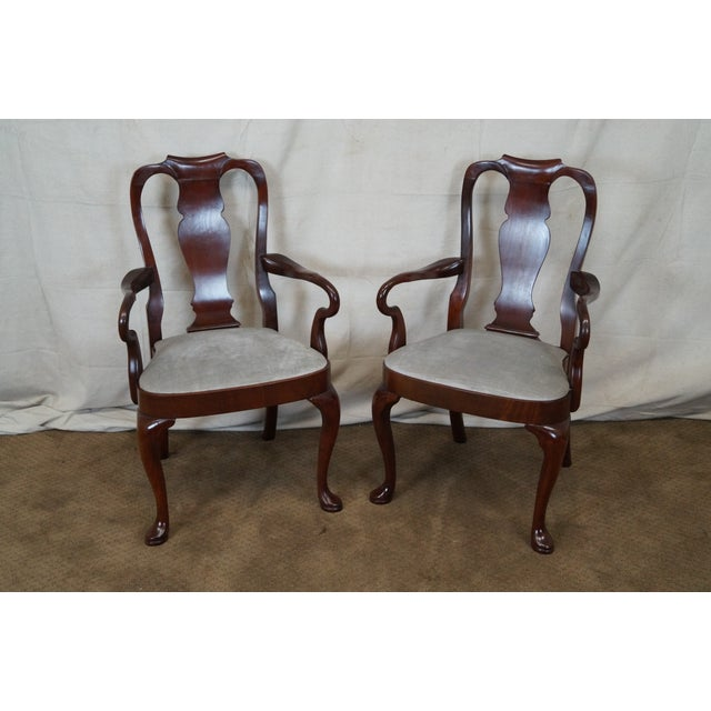 Hickory 18th Century Style Dining Chairs - S/6 - Image 2 of 10