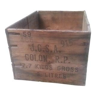 Dewars Whisky Crate