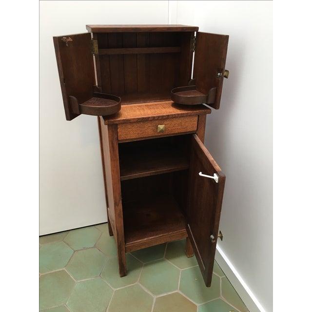 Image of Mission Furniture Bar Cabinet