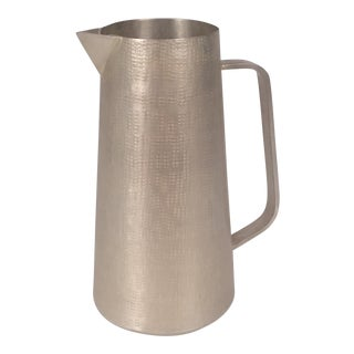 New Handmade Silver Pitcher