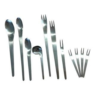 Arne Jacobsen Stainless Steel Cutlery Set
