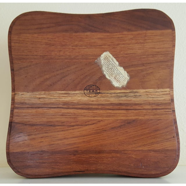 Ernest Sohn Rectangular Siamese Teak Bowl - Image 7 of 11
