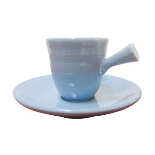 Light Blue Vintage Fiestaware Espresso Set