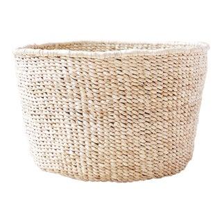 Banana Leaf Floor Basket
