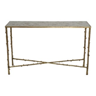 Black Glass Top Accent Side Table