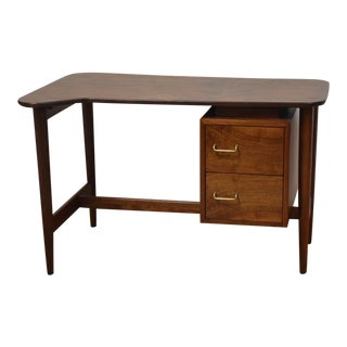 Walnut American of Martinsville Desk