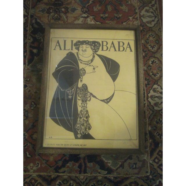 """Aubrey Beardsley """"Ali Baba"""" Print - Image 2 of 8"""