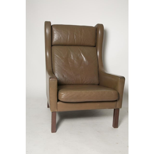 Borge Mogensen Wingback Chairs - Set of Two - Image 7 of 7