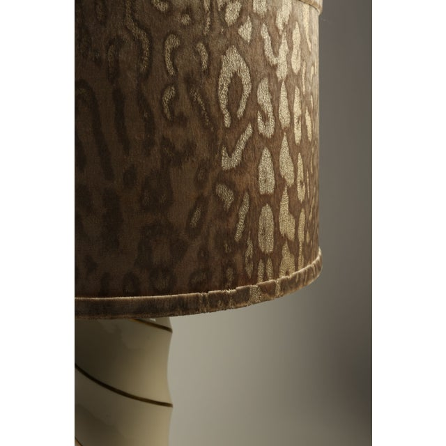 Image of Hollywood Regency Swirl Lamps - A Pair