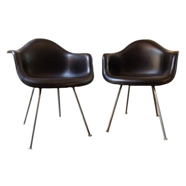 Black Herman Miller Chairs - a Pair - Image 1 of 6
