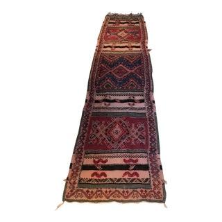 Vintage Persian Runner - 2″ × 8″
