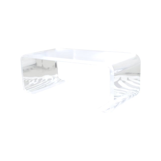 Plexi-Craft Waterfall Coffee Table - Image 1 of 5