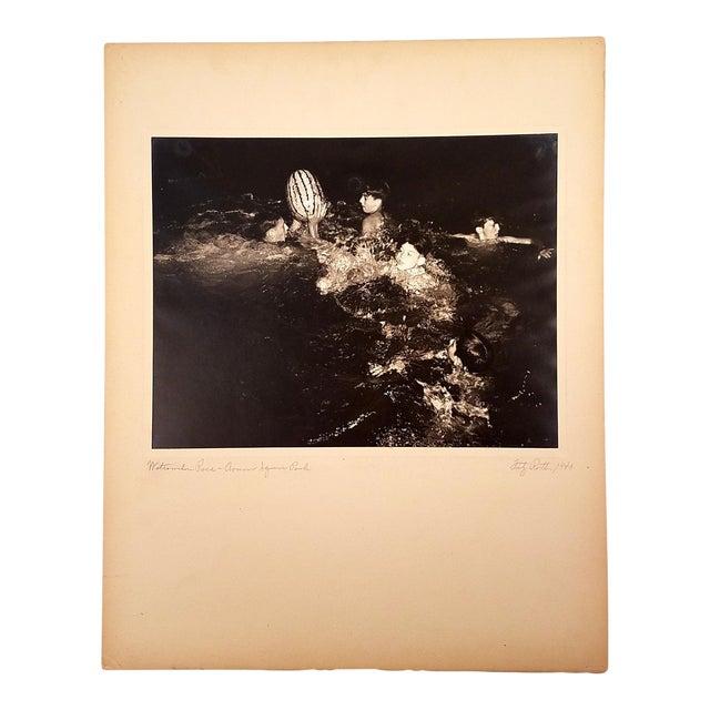 "1940 Fritz Roetter ""Watermelon Race - Armour Square Park"" Photo - Image 1 of 7"